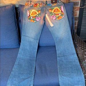 BRAND NEW! Unique ANTIK DENIM Jeans Size 9